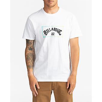 Billabong Menn'S T-skjorte ~ Arch hvit