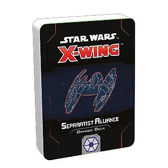 X-Wing Separatist Alliance Damage Deck Expansion (2nd Ed.)