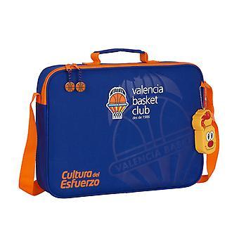 Briefcase Valencia Basket Blue Orange (6 L)