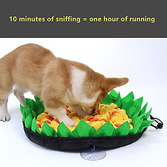Dogs Sniff Pad Snuffle Mat Dog Training Mat Cat And Dog Choking Prevention Bowl