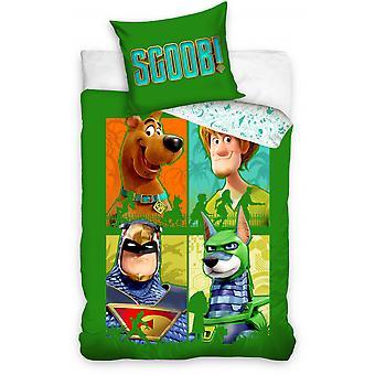 سرير تغطية جونيور 140 × 200 سم القطن الأخضر
