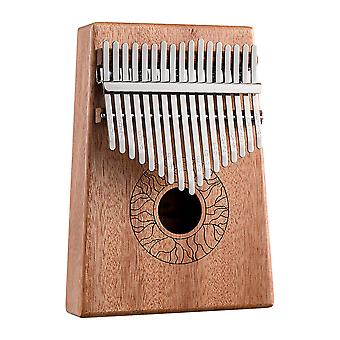 Kalimba Thumb Piano 17 Keys Portable Musical Instrument For Music Lover