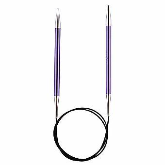 Knitpro Zing: Knitting Pins: Circular: Fixed: 60cm x 7.00mm