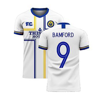 Leeds 2020-2021 Home Concept Football Kit (Fans Culture) (BAMFORD 9)