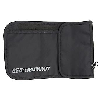Sea to Summit, Travel Accessory-Custody for Unisex-Adult Passport, Black, Breite 12, Hohe 21 cm, Tiefe 1.5 cm