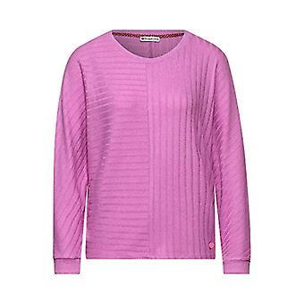 Gata ett 315736 T-Shirt, Söt Lilac Melange, 44 Kvinna