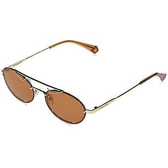 Polaroid PLD 6094/S Sonnenbrille, GOLD BRWN, 52 Unisex-Adult