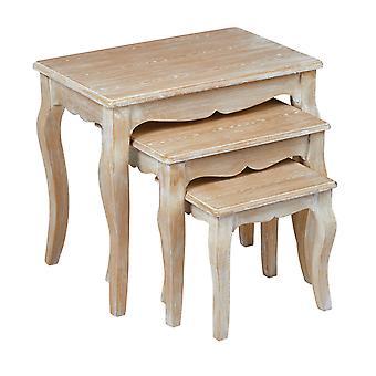 Pressit Nest Of 3 Tables Weathered Oak