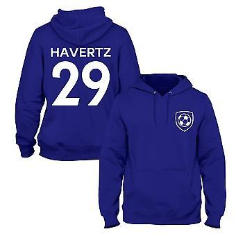 Kai havertz 29 Club Stil Kinder Spieler Fußball Hoodie