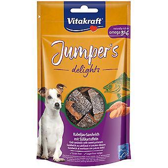 Vitakraft Jumpers Delights Fish (Hunder , Godbiter , Lys godbiter)