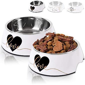 ne&no® Futternapf 2er Set für kleine und große Hunde, Katzen oder Welpen   Fressnapf