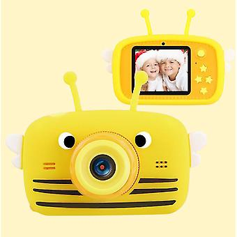 Bee yellow portable full-hd 1080p digital mini camera for kids child az960
