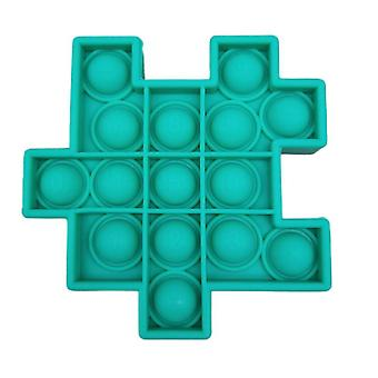 1Pcs green 6pcs silicon ball for kids play a rubik's cube style toy bundle stress relief with fidget hand toys az21904