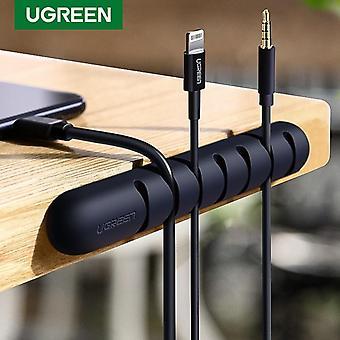 Silicone Usb Winder Flexible Cable Organizer