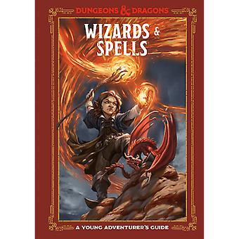 Un tânăr aventurier Ghidul Dungeons și Dragons Wizards și Vrăji