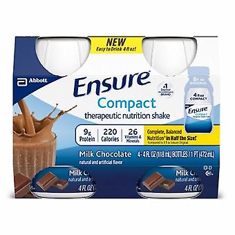 Abbott Nutrition Oral Supplement Compact Therapeutic Nutrition Shake, Chocolate Flavor, 4 Oz