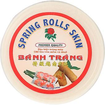 Rose Brand Spring Roll Rice Skin, Case of 10 X 12 Oz
