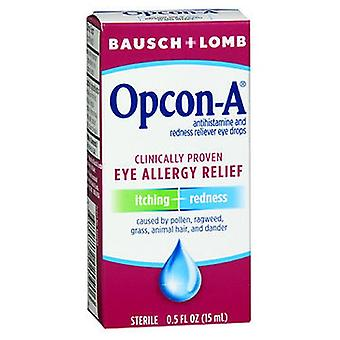Bausch And Lomb Bausch And Lomb Opcon-A Eye Drops For Itching And Redness, 0.5 oz
