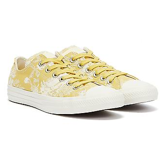 Converse Chuck Taylors All Stars Low Top Womens Saturn Gold / Egret Trainers