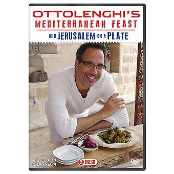 Ottolenghis Mediterrâneo FestaJerusalewbrm Em um DVD de placa (2013) Yotam Região 2
