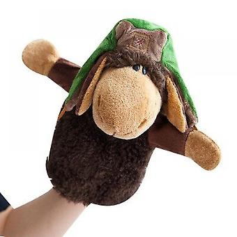 Cute Animal Plush Toy Hand Puppet With Movable Arms - Hand Puppets For Kids All Ages