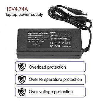 90w Universal Ac Dc Power Supply Adapter Charger For Most 19v 4.74a Laptop