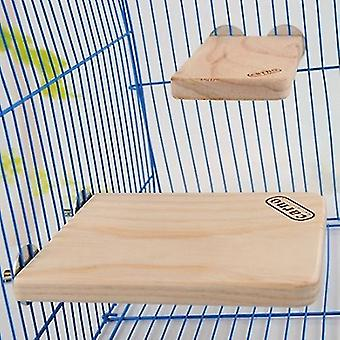 Haustier Holz rechteckige Sprungbrett Hamster kleine Haustiere Pedal Spielzeug, groß