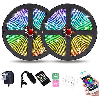Wigbow 32.8 ft/ 10M Bluetooth LED Chasing Light with APP, Dream Color Changing RGB Rope Lights Kit,