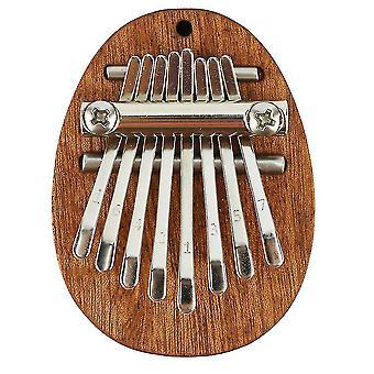 8 Keys kalimba thumb piano wooden musical instrument for beginners