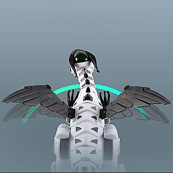 Elektrisches Spray Dinosaurier Drache Elektrischer Roboter Haustier mit Musik Licht Kinder Spielzeug Geschenk Action Spielzeug