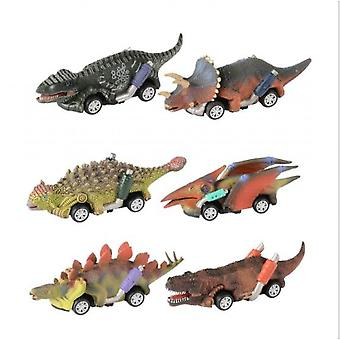 Dinosaur Toy Pull Back Cars, pull Back Toy Cars, Jeux de dinosaures