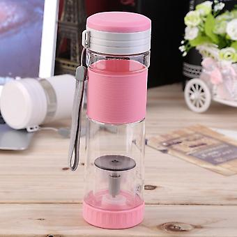Portable Travel Sport Tea Water Seal Bottle With Filter Strainer 550ml