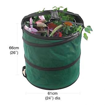 Large Pop Up Garden Bag Collecting Rubbish Waste Grass Tidy Sack