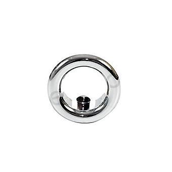 Small Chromed/Gilded/White Rose Collar Bathroom Sink Basin Overflow 15-25mm