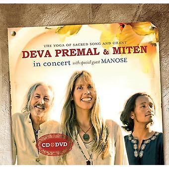 Deva Premal & Miten - Deva Premal & Miten in Concert [CD] USA import