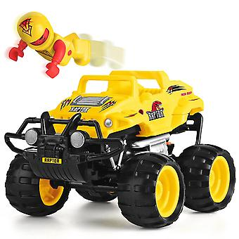 Monster Ups Smash fjernbetjening Race RC lastbil - Raptor