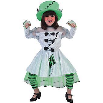 Children's costumes Girls FRANKENSTEIN BRIDE