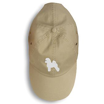 Carolines Treasures  BB3445BU-156 Bichon Frise Embroidered Baseball Cap