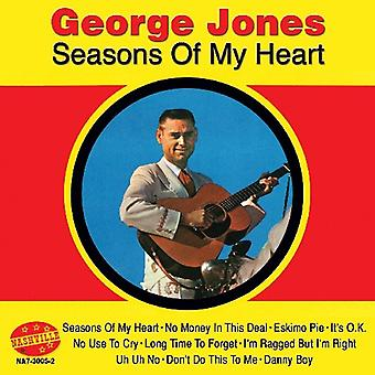 George Jones - Seasons of My Heart [CD] USA import