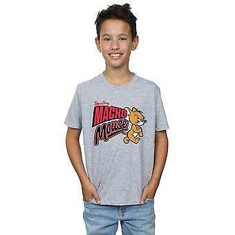 Tom And Jerry Boys Macho Mouse T-Shirt