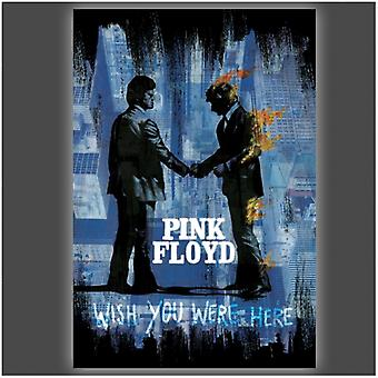 Pink Floyd Wish You were Here Poster Poster Print by Stephen Fishwick