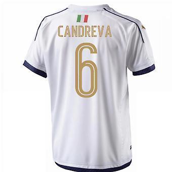2006 Italia homenaje camiseta (Candreva 6)