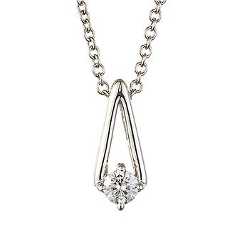 Forever Classic Round 3.25mm Moissanite Pendant Necklace