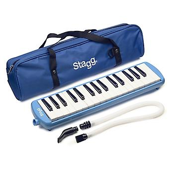 Stagg Melodica - blauw