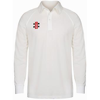 Gray-Nicolls Boys Matrix Long Sleeve Shirt