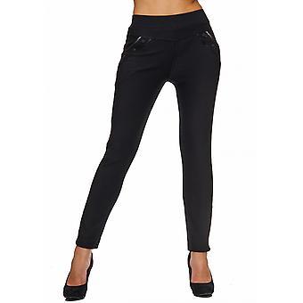 Ladies strekk bukser tynne klut bukser Leggings Treggings Jeggings Tube Chino