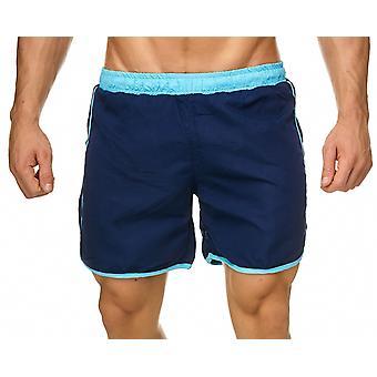 Mens Swim Shorts maillot de bain Color Stripe maillots de bain maillot de bain plage vacances vacances
