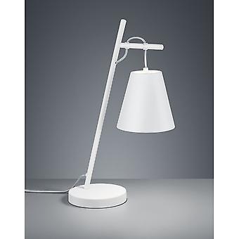 Trio Andreus moderne Beleuchtung weiß Matt Metall Tischlampe