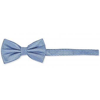 Fly shades of blue checkered noble gloss loop Fabio Farini Plaid bow tie