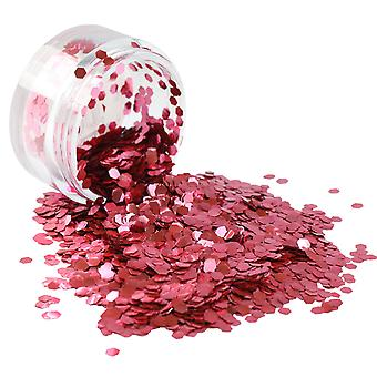 PaintGlow Biodegradable Cosmetic Glitter Chiffon Rose